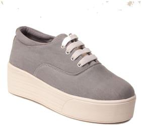 Klaur Melbourne Women Grey Casual Shoes