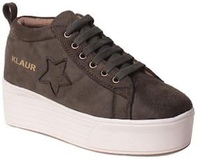 Klaur Melbourne Women Olive Casual Shoes