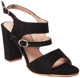 Klaur Melbourne Sandals For Women ( Black )