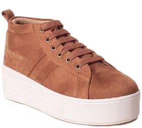 Klaur Melbourne Women Tan Casual Shoes