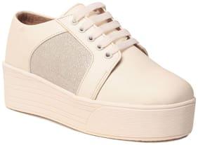Klaur Melbourne Women White Casual Shoes