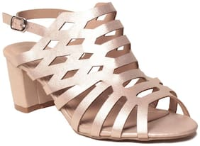 Klaur Melbourne Women Gold Sandals