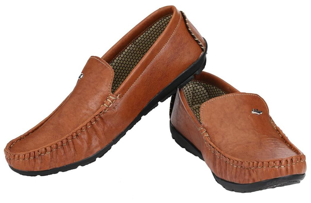 ed090838422 Buy Knoos Men Tan Loafer Online at Low Prices in India - Paytmmall.com
