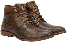 Ankle Boots For Men ( Brown )