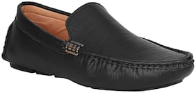 Kraasa Men Black Loafer