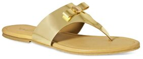 La Briza Golden Sandals