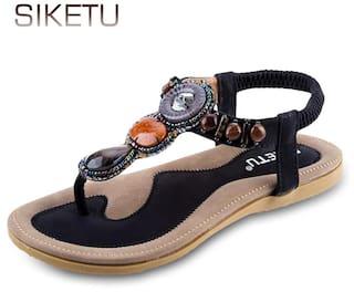 244da8e594d9 Ladies Siketu Bohemia Rhinestone Design Slip On Beach Flip-flop Sandals    International Bazaar. World Store