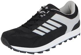 Lakhani Pace Energy Men's Black White Mesh Sports Running Shoes