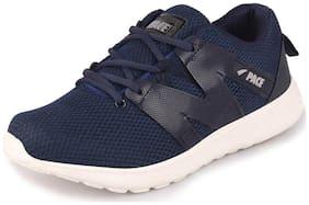 Lakhani Men Blue Running Shoes