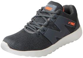 Lakhani Men Grey Running Shoes