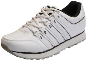 Lakhani Pace Men's White Grey Sports Running Shoes
