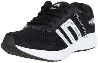 Lancer Men Black Running Shoes - Bounce-809blk-wht