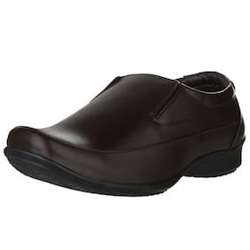 Lancer Men Brown Formal Shoes - Lm-106brn