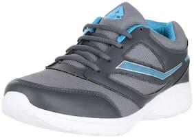 Lancer Men Grey Running Shoes