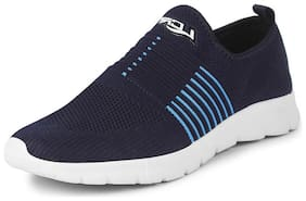 Lancer Men HUMMER-601NBL-SBL Walking Shoes ( Navy Blue )