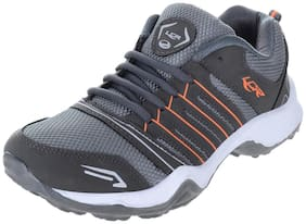 Lancer Men Grey Running Shoes
