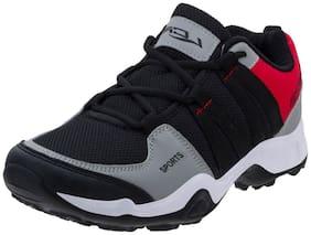 Lancer Men HECTOR-901BLK-RED Running Shoes ( Black )