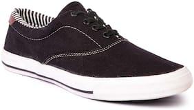 Lancer Men Black Sneakers