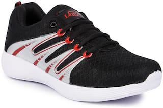 Lancer Men ACTIVE-33BLK-RED Running Shoes ( Black )