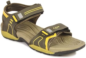 Lancer Men Yellow Sports Sandals