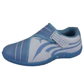 Lancer Women Pari -33 Blue Synthetic Sneakers