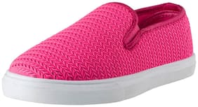 Lancer Women Pink Loafers Casual Shoes
