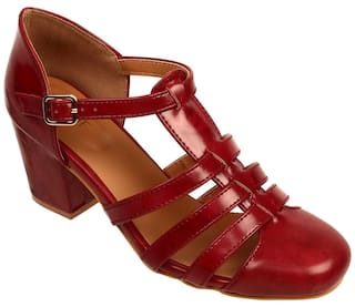 013e94c410a Buy Lavie Women Maroon Footwear Online at Low Prices in India ...