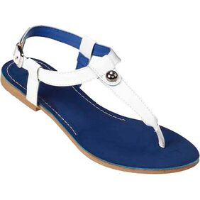 Lavie Womens Blue Flats