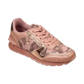 LAVIE Women Urania Camo Pink Walking Shoes