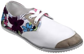 LAVIE Women White Casual Shoes