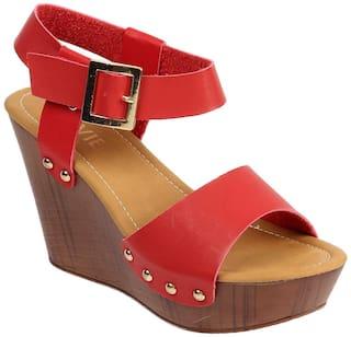 Lavie Women Red Footwear