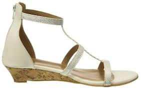 LAVIE Women White Sandals