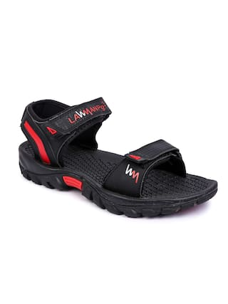 7db85f1f8690 Buy Lawman Pg3 Black Sandals Online at Low Prices in India ...