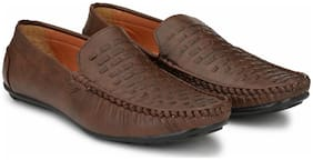 Lawman Pg3 Men Brown Loafer