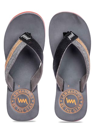 ea4f8296ae59 Buy Lawman Pg3 Men Grey Flipflop Online at Low Prices in India ...