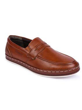 Lawman Pg3 Men Tan Formal Shoes - Lm-1437