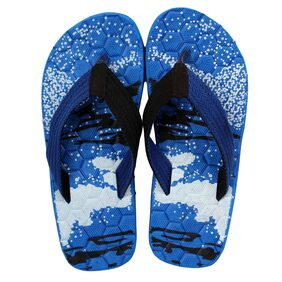 LEAVESS Men Blue Outdoor Slippers