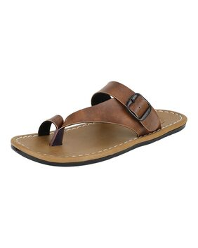 LEAVESS Men Brown Outdoor Slippers