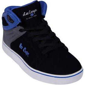 Lee Cooper Black And Blue Running Shoes