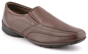 Lee Cooper Brown Formal Slipons Shoes (Euro Size-40)