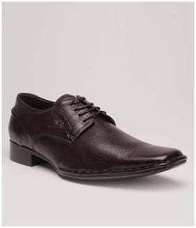 Lee Cooper Brown Formal Shoes (Euro Size-43)