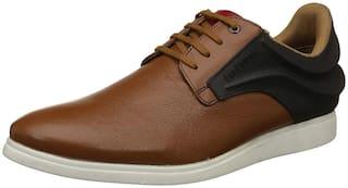 Lee Cooper Men Tan Casual Shoes - YT-LC2184-TAN - YT-LC2184-TAN