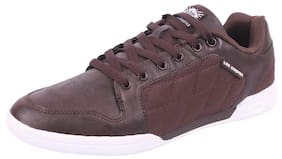 Lee Cooper Men Brown Synthetic Lifestyle Shoes