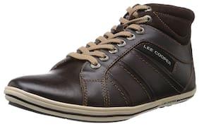 Lee Cooper Men Brown Casual Shoes