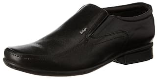 Lee Cooper Men Black Formal Shoes