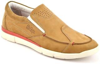 Lee Cooper Men Tan Casual Shoes - Lc 2233 Camel