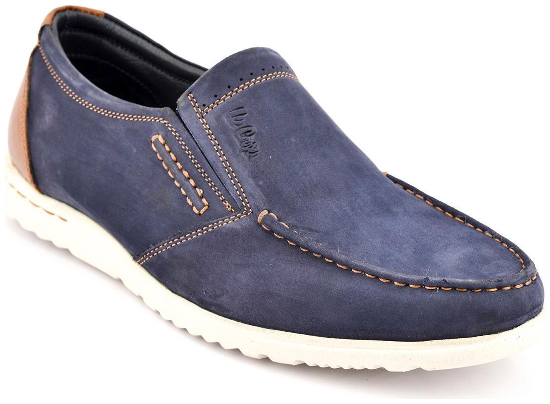 Buy Lee Cooper Men Navy Blue Casual