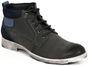 Lee Cooper Men Grey Boot - Lc2198-grey