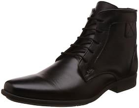 Lee Cooper Men's Black Chukka Boots