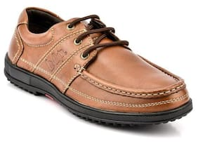 Lee Cooper Men Brown Casual Shoes
